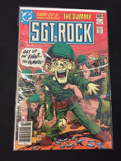 DC Comics, SGT. Rock #349-Comic Book