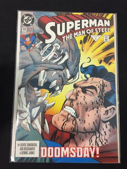 DC Comics, Superman The Man Of Steel #19-Comic Book