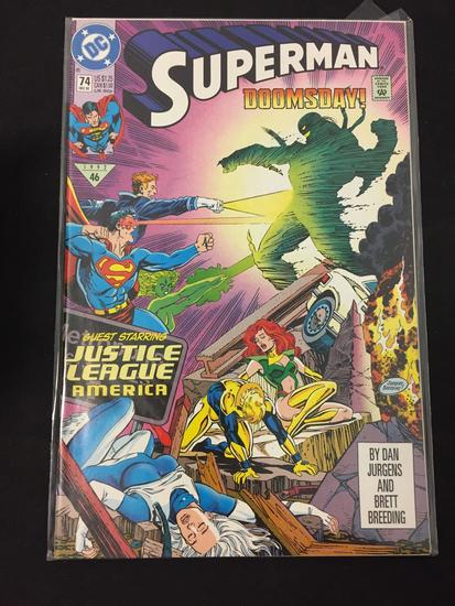 DC Comics, Superman #74-Comic Book