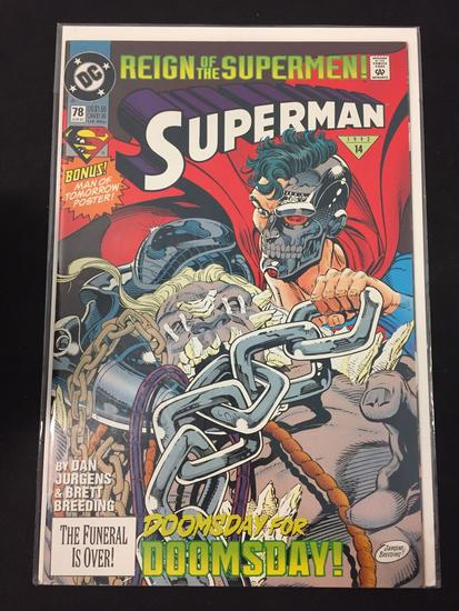 DC Comics, Superman #78-Comic Book
