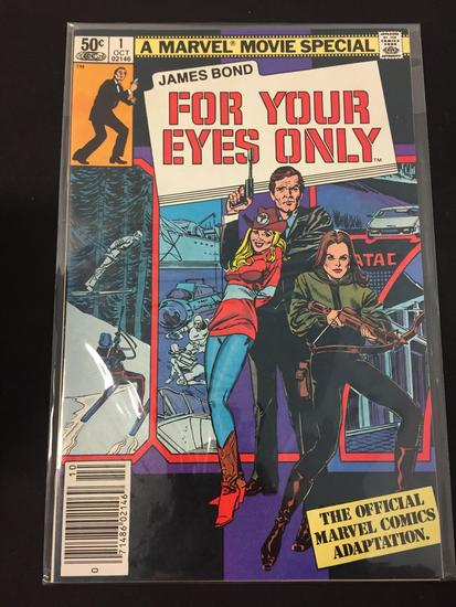 Marvel Comics, James Bond For Your Eyes Only #1-Comic Book