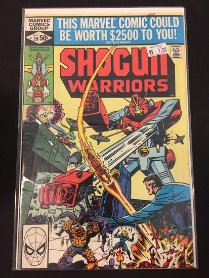 Marvel Comics, Shogun Warriors #20-Comic Book