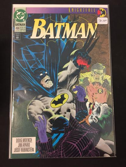 DC Comics, Batman #496-Comic Book