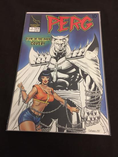 Lightning Comics, Perg #1-Comic Book