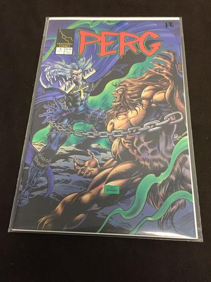 Lightning Comics, Perg #3-Comic Book
