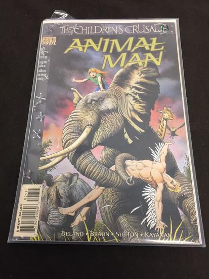 DC Comics, The Children's Crusade Animal Man #1 Annual-Comic Book