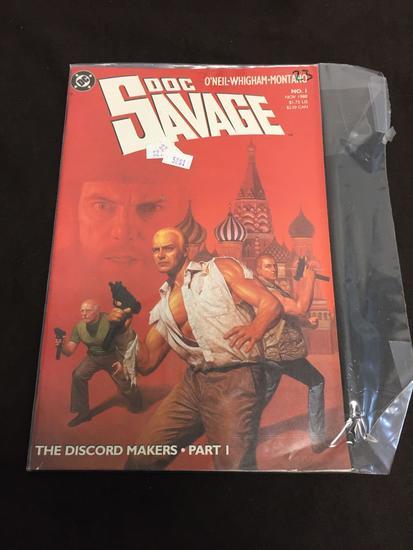 DC Comics, Doc Savage #1-Comic Book
