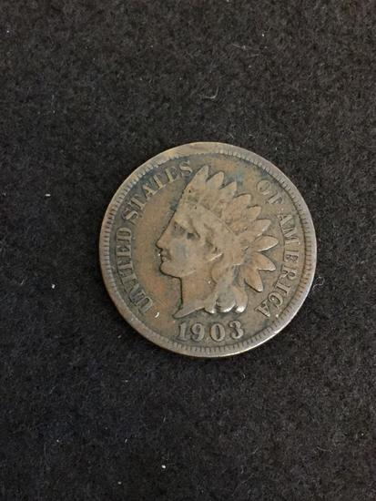 1903 United States Indian Head Penny