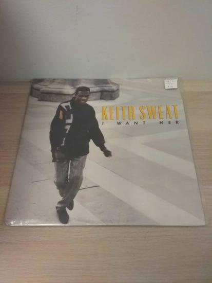 Keith Sweat - I Want Her - LP Record