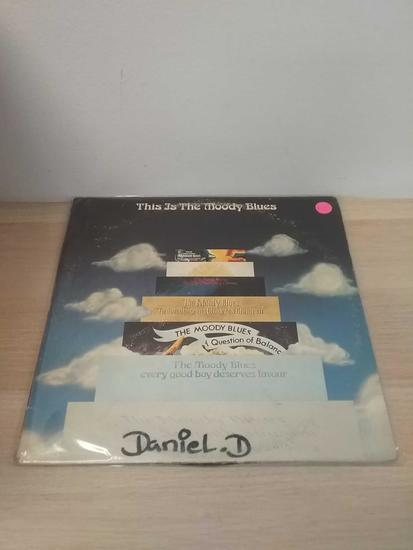 This is the Moody Blues- LP Record
