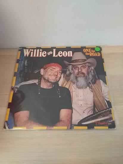 Willie And Leon - One For The Road - LP Record