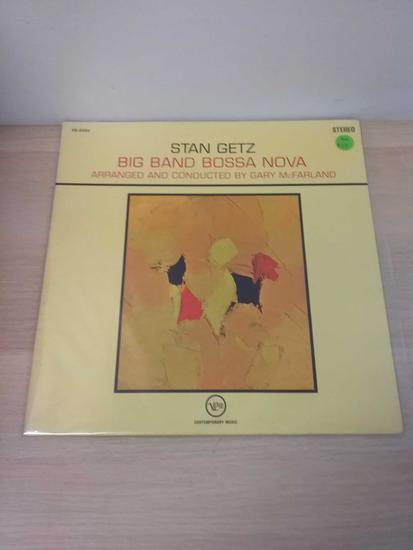 Stan Getz - Big Band Bossa Nova - LP Record