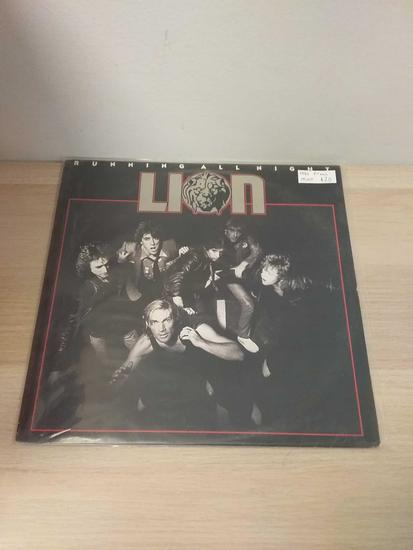 Lion - Running All Night - LP Record