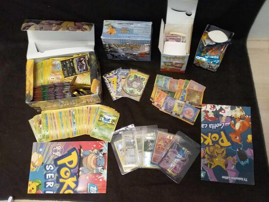 Huge Collection of Pokemon Cards and Memorabilia From Estate