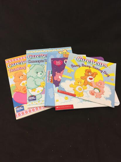 5 Count Lot Of Care Bear Books
