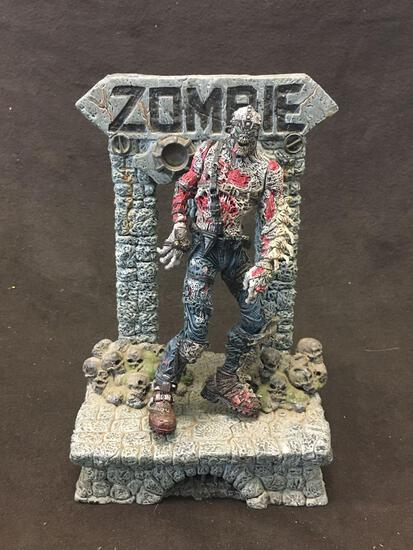 McFarlane Toys Zombie Action Figure W/Stand
