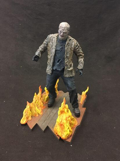 Zombie Action Figure New Line Toy w/ Stand