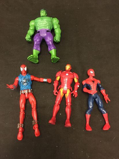 4 Count Avengers Action Figures Lot
