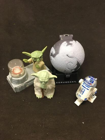 Lot of 4 Star Wars Toys