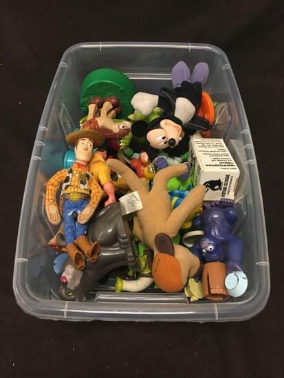 Lot Of Vintage Disney Toys