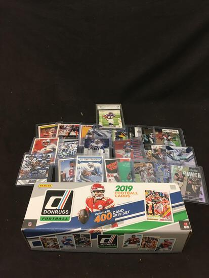HUGE Lot of NFL Star Cars and More from Collection