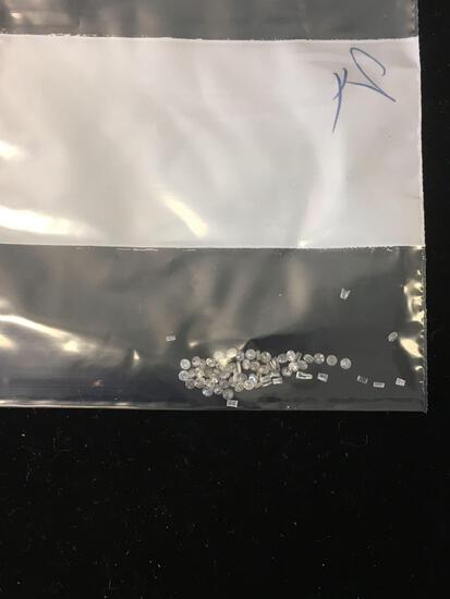 Lot of Small Various Size, Shape & Quality Loose Diamond Melee