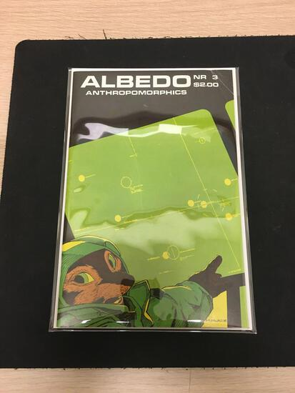 Albedo Anthropomorphics Nr 3 Comic Book from Estate Collection