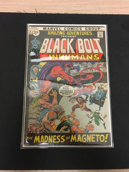 Amazing Adventures Black Bolt and the Inhumans #9 Comic Book from Estate Collection