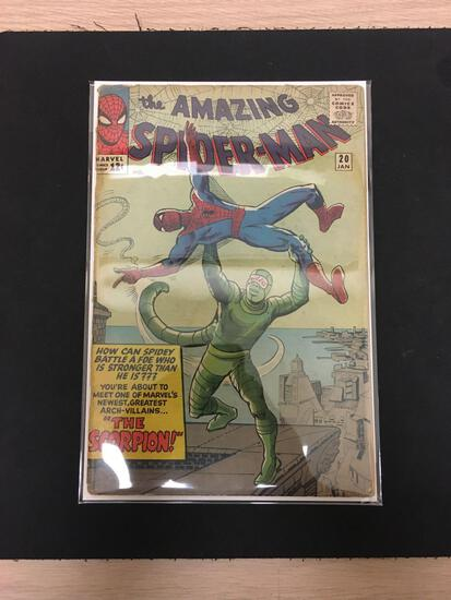 The Amazing Spider-Man #20 Comic Book from Estate Collection