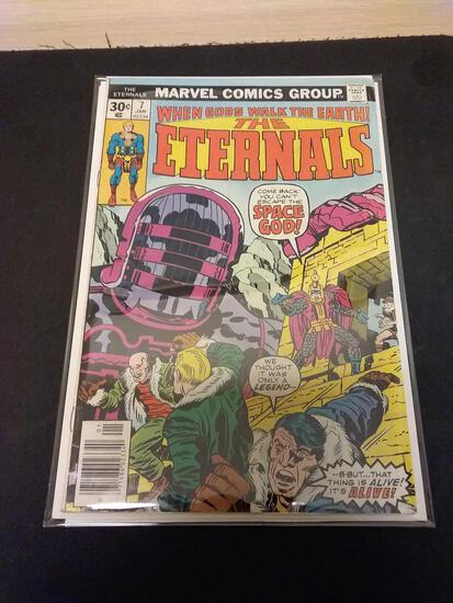 The Eternals #7 Comic Book from Estate Collection