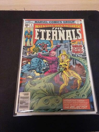 The Eternals #8 Comic Book from Estate Collection