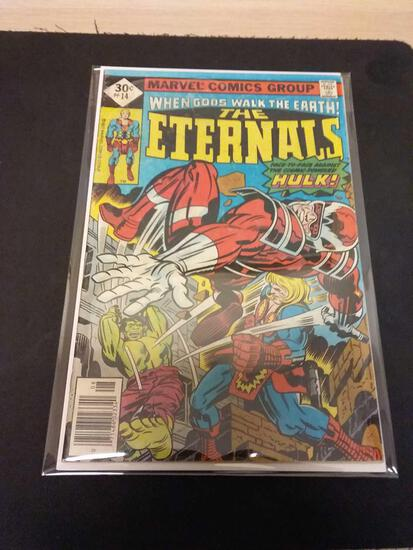 The Eternals #14 Comic Book from Estate Collection