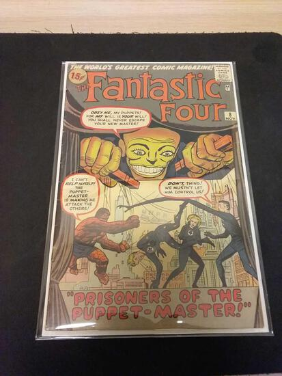 The Fantastic Four #8 Comic Book from Estate Collection