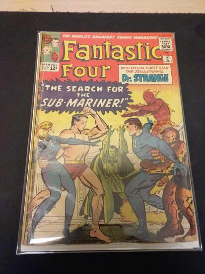 The Fantastic Four #27 Comic Book from Estate Collection