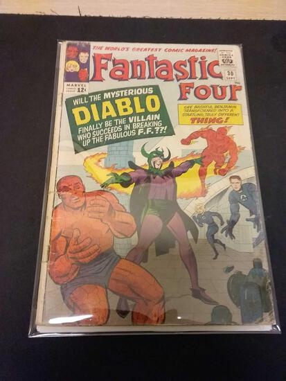 The Fantastic Four #30 Comic Book from Estate Collection