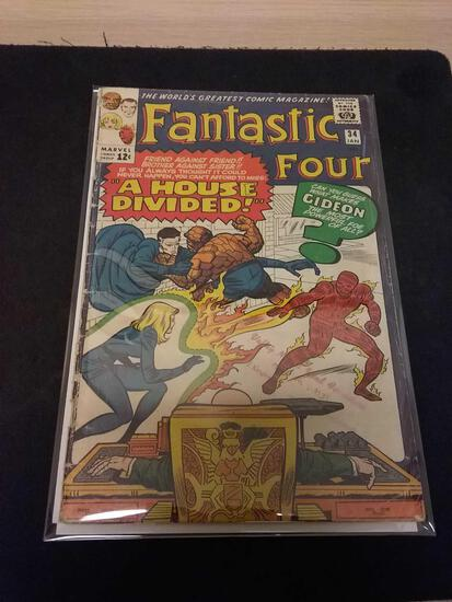 The Fantastic Four #34 Comic Book from Estate Collection