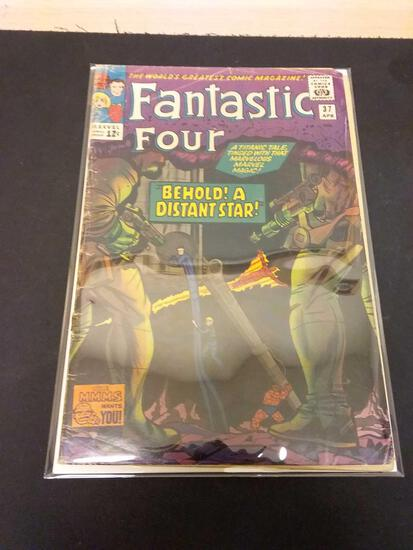 The Fantastic Four #37 Comic Book from Estate Collection