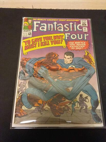 The Fantastic Four #42 Comic Book from Estate Collection