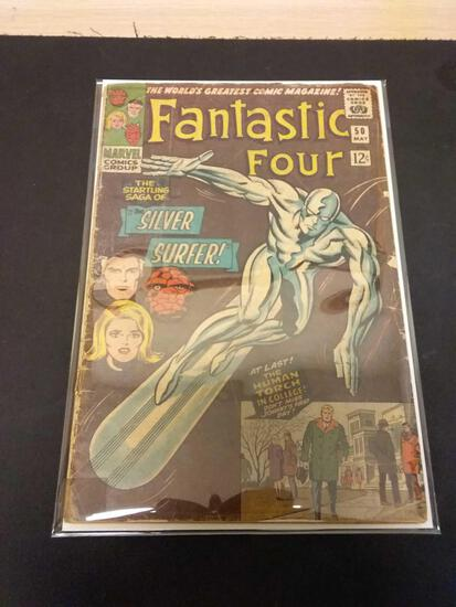 The Fantastic Four #50 Comic Book from Estate Collection