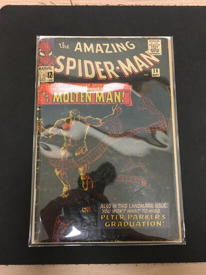 The Amazing Spider-Man #28 Comic Book from Estate Collection