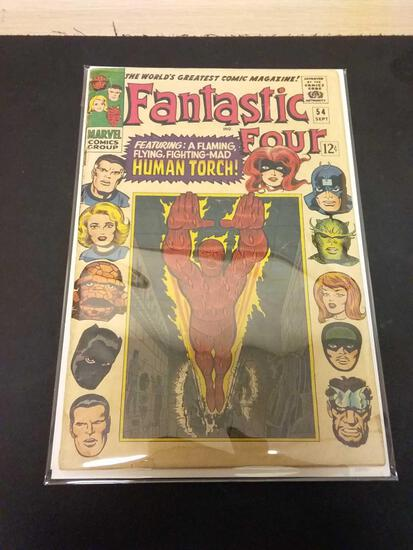 The Fantastic Four #54 Comic Book from Estate Collection