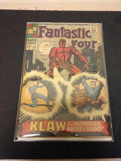 The Fantastic Four #56 Comic Book from Estate Collection