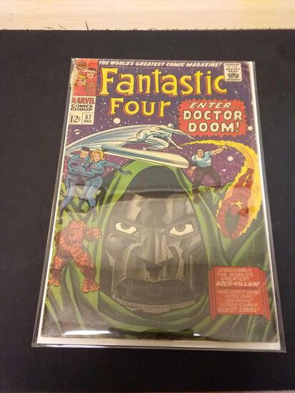 The Fantastic Four #57 Comic Book from Estate Collection