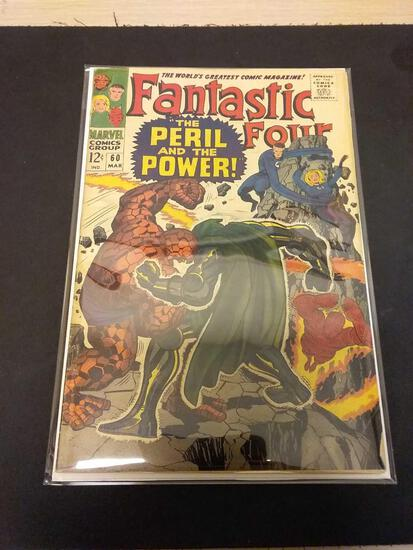 The Fantastic Four #60 Comic Book from Estate Collection