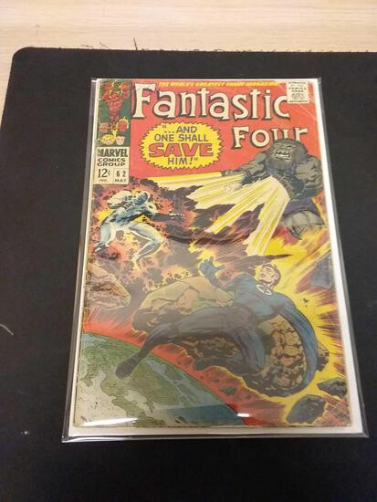 The Fantastic Four #62 Comic Book from Estate Collection