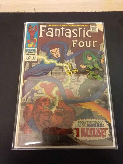 The Fantastic Four #65 Comic Book from Estate Collection