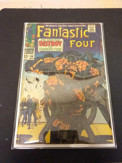 The Fantastic Four #68 Comic Book from Estate Collection
