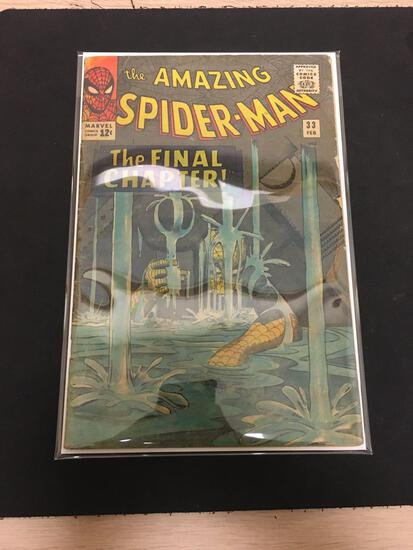 The Amazing Spider-Man #33 Comic Book from Estate Collection