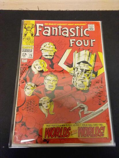 The Fantastic Four #75 Comic Book from Estate Collection