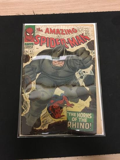 The Amazing Spider-Man #41 Comic Book from Estate Collection